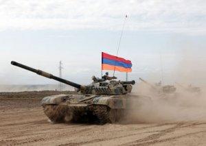 Erməni silahlı bölmələri işğal altındakı Azərbaycan torpaqlarında təlimlər keçirir