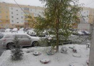 Rusiyada mayda qar yağdı
