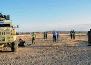 NATO-nun Əməliyyat İmkanları Konsepsiyası çərçivəsində Azərbaycan Ordusunun kəşfiyyat bölüyünün təlimi keçirilir