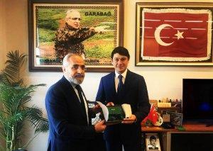 Fuad Muradov Türkiyə Prezidentinin baş müşaviri Yalçın Topçu ilə görüşüb