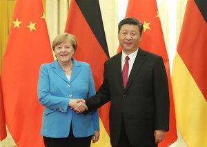 Si Cinpin Çin və Almaniya arasında daha sıx əməkdaşlığa çağırıb