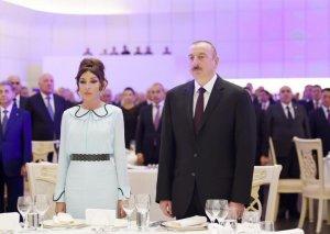 Prezident və xanımı AXC-yə həsr olunmuş tədbirdə