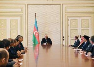 Azərbaycan Prezidenti: İslam həmrəyliyini möhkəmləndirmək xarici siyasətimizin əsas prioritet məsələlərindən biridir