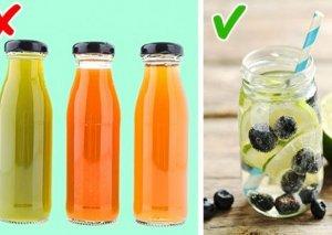 Bu 4 səbəbə görə meyvə şirələrini içmək ziyanlıdır