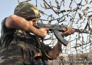 Ermənistan silahlı qüvvələri snayper tüfənglərindən də istifadə etməklə atəşkəsi 79 dəfə pozub