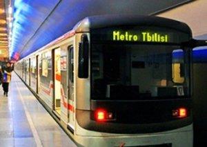 Tbilisidə tətil metronun işini dayandırdı