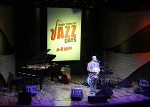 """""""Baku Summer Jazz Days"""" festivalının açılışı olub"""