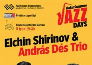 Muğam Mərkəzində Elçin Şirinov və Andras Des Trio konsert proqramı ilə çıxış edib