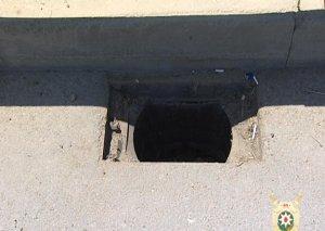 Bakıda 100-dən artıq kanalizasiya quyusunun qapağı oğurlanıb