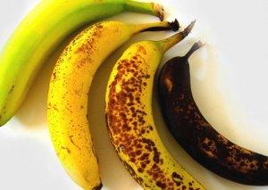 Bananın rənginə görə faydası: yaşıl bağırsaqlar üçün, sarı...