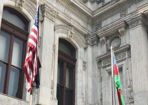 Filadelfiyada Azərbaycan bayrağı ucaldılıb