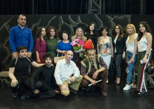"Akademik Milli Dram Teatrında ""Manqurt"" tamaşasının premyerası keçirilib"