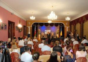 Kiyevdə Müslüm Maqomayevin xatirəsi anılıb