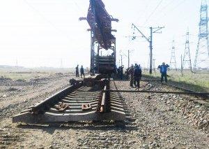 Xıdırlı - Qaragünə mənzilində 7 km dəmir yolu əsaslı təmir olunur