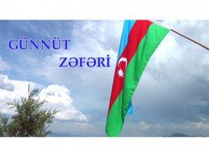 Müdafiə Nazirliyi Günnüt zəfəri ilə bağlı video yayıb