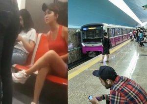 Bakı metrosunda qalmaqala səbəb olan şortikli qızdan YENİ XƏBƏR