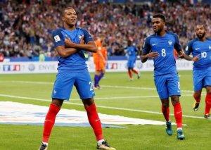 Mbappe Fransa futbolunun tarixinə düşdü