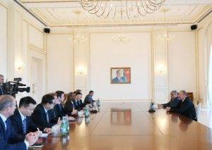 Azərbaycan prezidenti Asiya İnkişaf Bankının İdarə Heyəti Şurasının üzvlərini qəbul edib