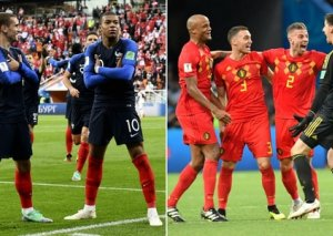 DÇ 2018: Fransa finalda!