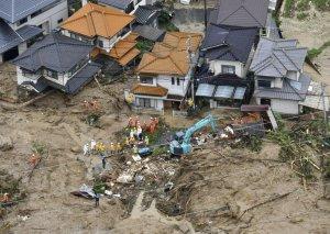 Yaponiyada güclü yağışlar nəticəsində ölənlərin sayı 179-a çatıb