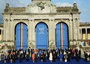 Prezident İlham Əliyev NATO-nun müttəfiq və tərəfdaş ölkələrinin dövlət və hökumət başçıları üçün qəbulda iştirak edib