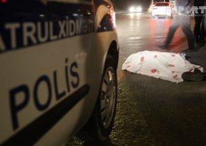 Bakıda avtomobil 80 yaşlı qocanı vuraraq öldürüb