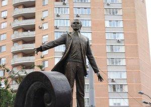 Kiyevin mərkəzində Müslüm Maqomayev adına parkın təntənəli açılış mərasimi olub
