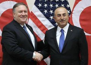 Türkiyənin XİN başçısı ABŞ-ın dövlət katibi ilə görüşüb