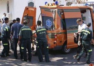 Qahirədə avtomobil partladı, yoldan keçən avtobus da alışdı
