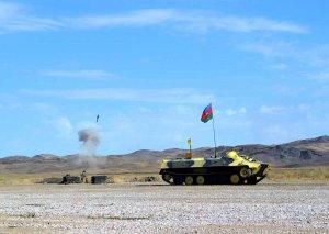 Azərbaycanın da iştirak etdiyi artilleriya müsabiqəsi başa çatıb