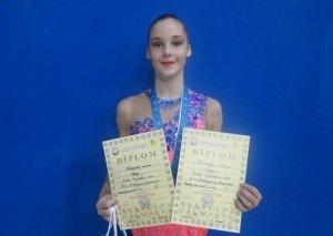 Azərbaycalı gimnast Yelizaveta Luzan: Tamaşaçıların dəstəyi çox kömək edir