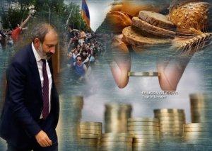 Paşinyanın 100 gününə sürpriz - Ermənistanda çörək bahalaşdı