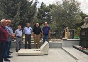 Maqsud Məmmədovun məzarı ziyarət olunub