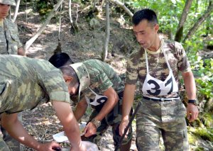 Azərbaycan Ordusunda səmti müəyyən etmə yarışları başlayıb